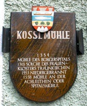 Kösslmühle_Schild