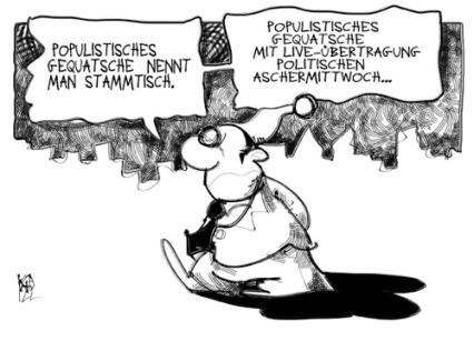 Politischer Aschermittwoch
